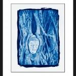 buddha_in_bodhi_tree-cyanotype
