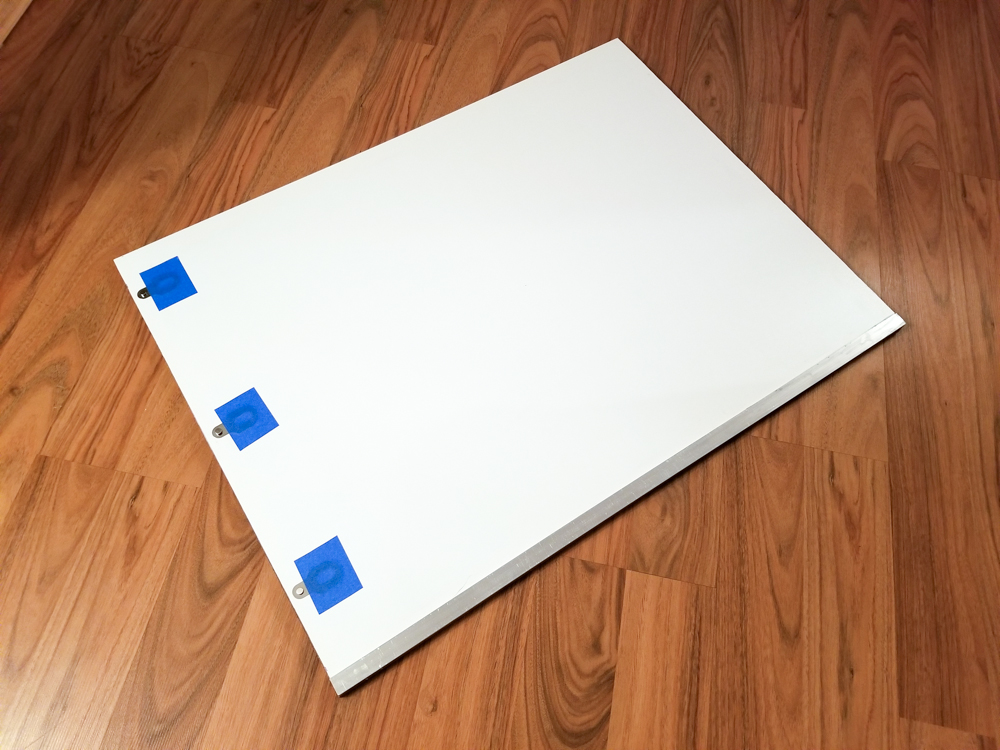 Pin Registration Board For Three Color Gum Printing